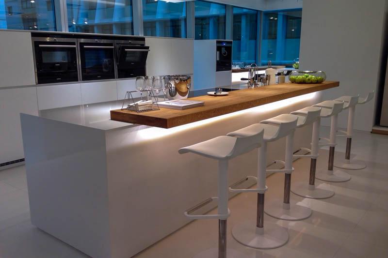 Kuhinja od kvarca Absolut white 2