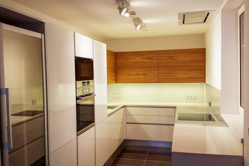 Kuhinja od kvarca suprime white 1
