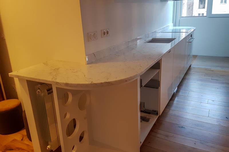 202 Kuhinja od mermera Carrara