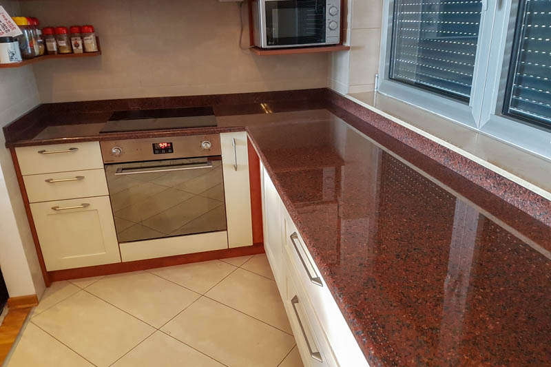 502 Kuhinja od granita Red Africa