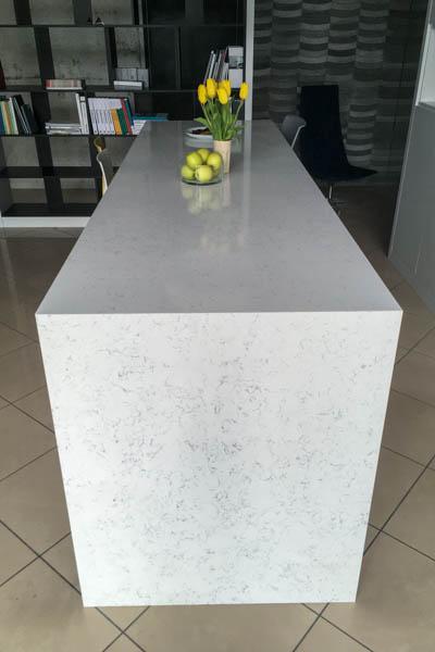 Kuhinja od kvarca Areti Bianco 5