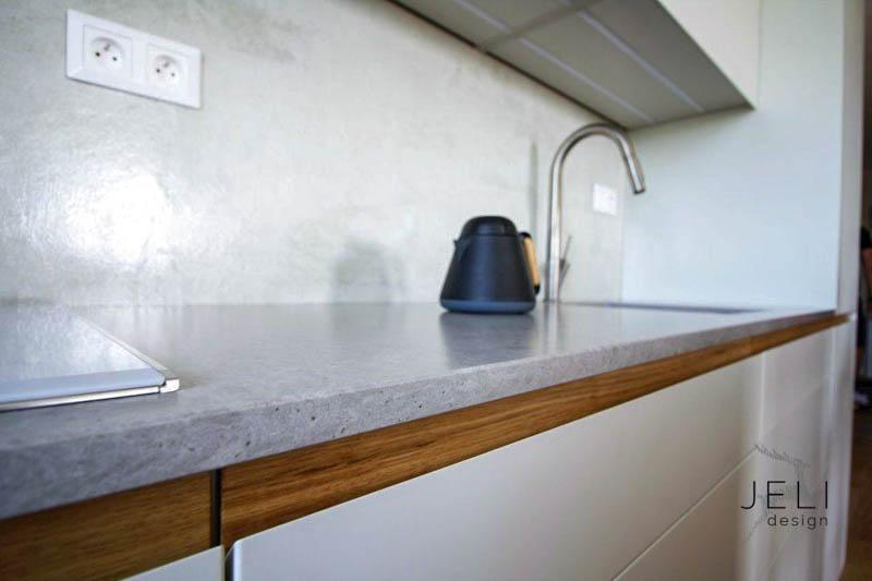 Kuhinja od kvarca Noble Concrete Grey (3)