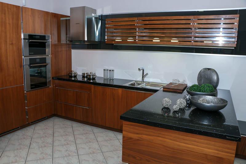 Kuhinja od kvarca Starling black 2